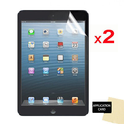 2 X CLEAR LCD Screen Protector Guards For Apple IPad Mini 2 With Retina Display • 2.49£