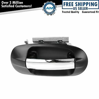 $34.03 • Buy Outside Door Handle Black & Chrome Front Passenger Side For Expedition Navigator