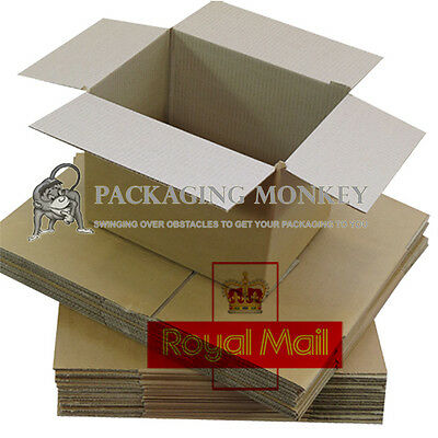 Variety Of Royal Mail Small Parcel Size Postal Cardboard Boxes Wraps *all Sizes* • 17.05£