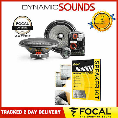 £119.95 • Buy Focal 165AS Access Series 2-Way 16.5cm 6.5  Component Car Speakers 120W PAIR NEW