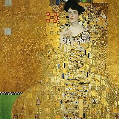 $ CDN57.16 • Buy Portrait Of Adele Bloch Bauer (1) By Gustav Klimt Giclee Reproduction On Canvas
