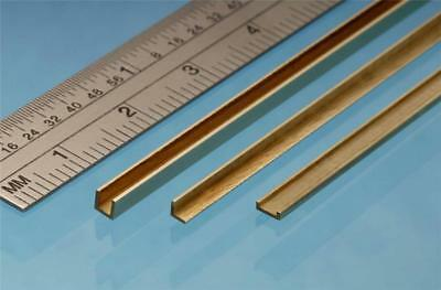 Albion Alloys Brass Angle 2 X 2 Mm X 305 Mm From Chronos Ref A2 • 7.89£