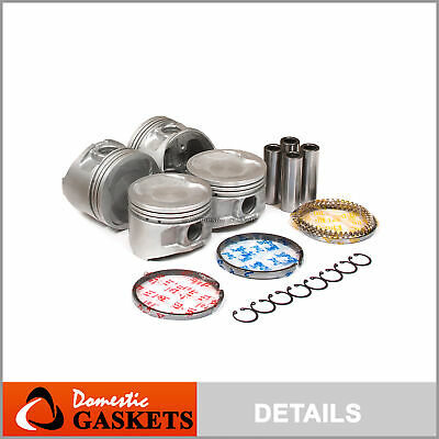 AU87.71 • Buy 90-99 Toyota Celica Camry MR2 2.2L DOHC Pistons And Rings Set 5SFE