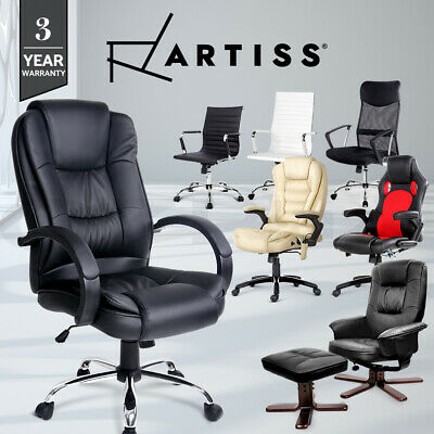 AU199 • Buy Artiss Office Chair Gaming Chair Computer Chairs Mesh Executive Recliner Lounge