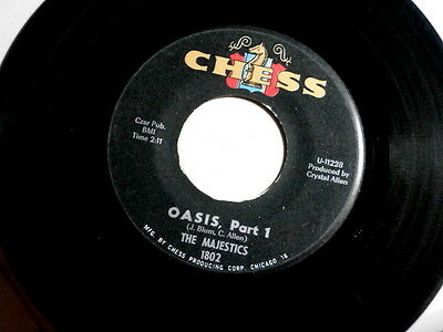 $49.99 • Buy Majestics~oasis~part1~vg+~mad Mike  Sound~chess 1802~part 2 ~ Instrumental 45