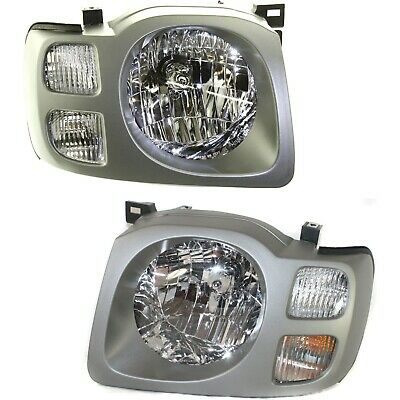 $108.89 • Buy Headlight Set For 2002 2003 2004 Nissan Xterra SE Left And Right With Bulb 2Pc