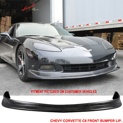 $119.50 • Buy Fits 05-13 Corvette C6 Front Bumper Lip PU