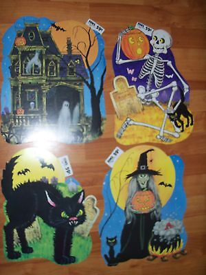 $ CDN10.88 • Buy Halloween Diecuts Cutouts HMS #303 To #306 Vintage Decorations U Pick NOT A LOT