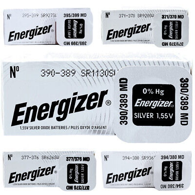 Energizer Silver Oxide 1.5V Watch Batteries ALL SIZES • 1.79£