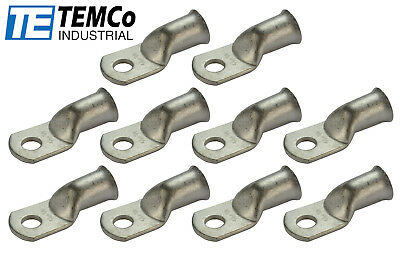 AU27.20 • Buy 10 Lot 4/0 3/8  Hole Ring Terminal Lug Tin Plated Copper Uninsulated AWG Gauge