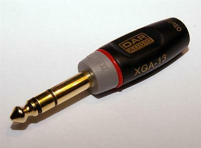 Xcaliber 6.35mm (1/4 ) Stereo Jack Plug To 3.5mm Stereo Jack Socket Adaptor • 4.48£