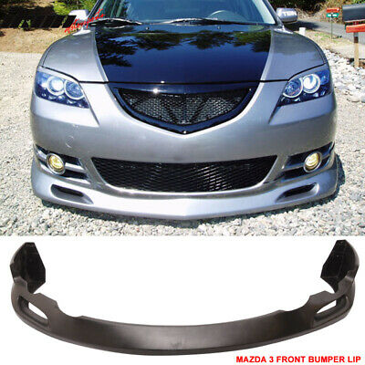 $90.99 • Buy Fits 04-06 Mazda 3 S-Type Front Bumper Lip PU