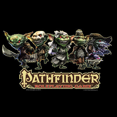 £15.94 • Buy T-Shirt Pathfinder Roleplaying Game Goblins Paizo At OffWorld Designs