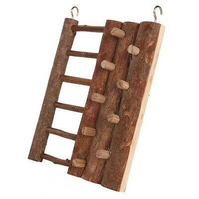 Trixie Natural Wooden Hanging Climbing Wall Ladder Hamster Gerbil Mice Cage6199 • 7.09£