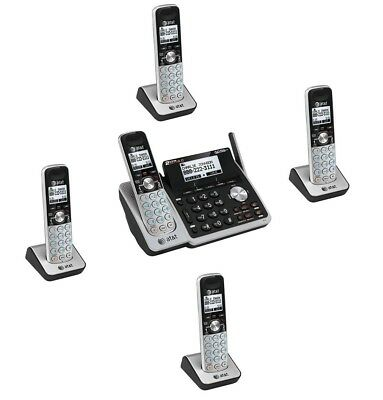 $ CDN263.63 • Buy AT&T DECT 2 Line Cordless Intercom Paging Conference Phone System W 5 Handsets