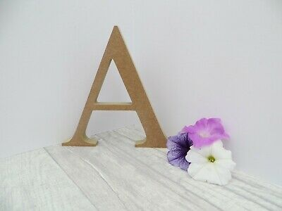 Freestanding Wooden Capital Letters 20cm High Unpainted MDF 18mm Thick  • 2.90£