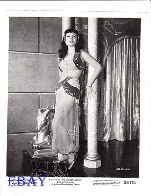$ CDN46.32 • Buy Peggy Castle Busty Sexy VINTAGE Photo The Golden Horde