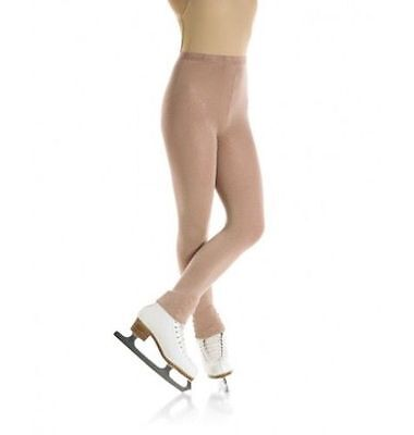 New Mondor 3373  Thick Opaque Footless Ice Skating Tights - Child & Adult Sizes • 12.75£