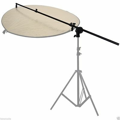 Reflector Holder Studio Boom Arm 1.8m Collapsible Disc Photography Grip Photo UK • 17.99£