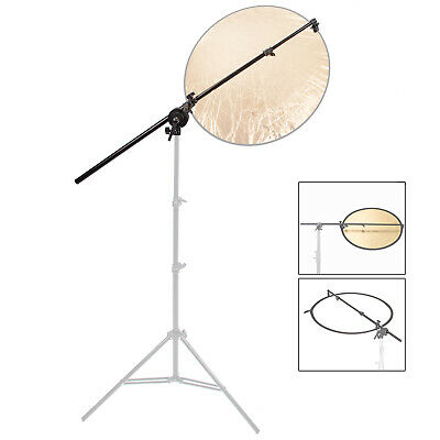 £17.09 • Buy Reflector Holder Studio Boom Arm 1.8m Collapsible Disc Photography Grip Photo UK
