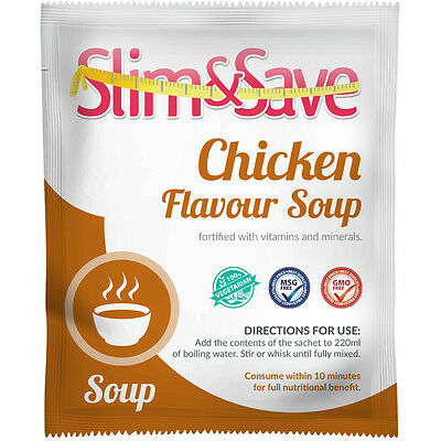 £1.99 • Buy Slim&Save VLCD Vegetarian Chicken Flavour Soup-Total Meal Replacement Diet-CHSP1