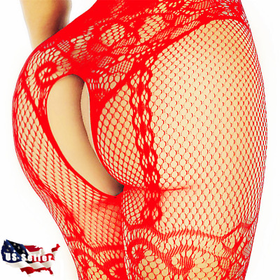 $6.94 • Buy Lingerie Stockings Bodysuit Bodystocking Thigh-Highs Women Sleepwear Nightwear