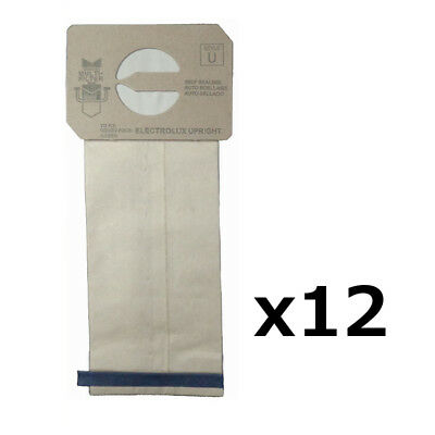 $12.49 • Buy 12 Upright Style U Allergy Vacuum Bags For Electrolux Aerus Prolux Discovery