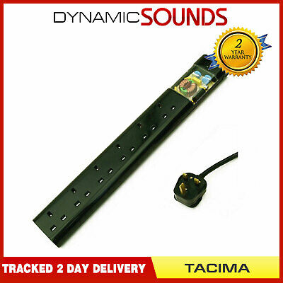 £38.50 • Buy Tacima CS947 6 Way UK Mains Conditioner Surge Protection Interference Filter 2M