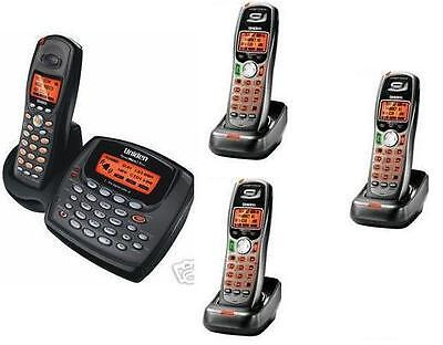 $ CDN224.08 • Buy Uniden 2 Line Cordless Intercom Paging Dual Conference Phone System W 4 Handsets