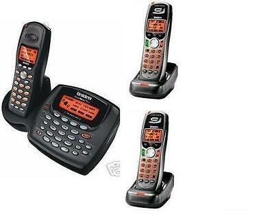 $ CDN184.53 • Buy Uniden 2 Line Cordless Intercom Paging Dual Conference Phone System W 3 Handsets