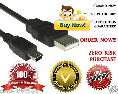 1m MINI USB To USB CHARGER CABLE LEAD FOR TOMTOM SATNAV ONE V3 V4 XL • 2.17£