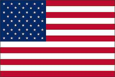 UNITED STATES OF AMERICA American Flag Vinyl Decal / Sticker ** 5 Sizes **   • 14.33£