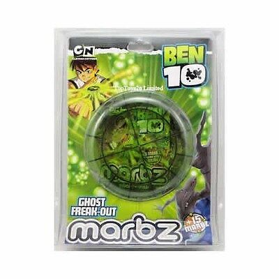 Ben 10 Ten - Boys Marbz Marbles & Cards Ghost Freak Out Game - New Toy  • 4.99£