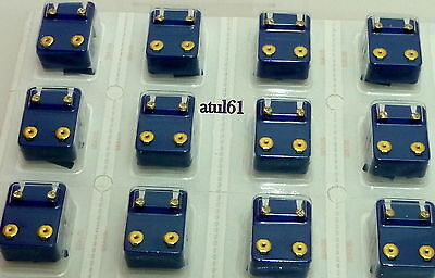 £16.99 • Buy Pack Of 12 Caflon Ear-piercing Studs Gold/silver Plated/birthstone Colours New*