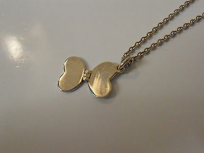 £25 • Buy KIT HEATH KIDS STERLING SILVER BUTTERFLY  PENDANT AND CHAIN  Rrp £35