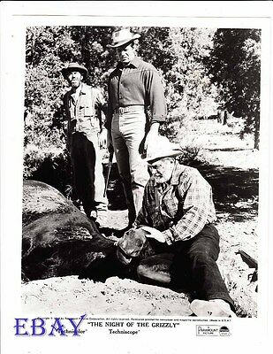 $31 • Buy Clint Walker Night Of The Grizzly VINTAGE Photo