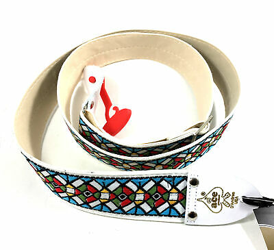 $ CDN32.80 • Buy Ace Guitar Strap  Vintage Style  Stained Glass Design  D'Andrea