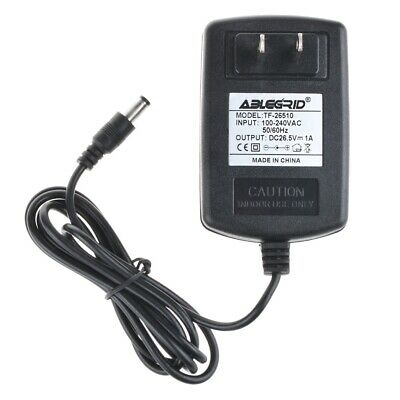 $9.49 • Buy AC 100-240V 26.5V 1A DC Adapter Charger Power Supply Cord 5.5mmx2.5mm Mains PSU