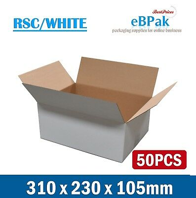 AU49.50 • Buy 50x Mailing Box A4 Regular Plus 310x230x105mm B2 BX2 SIZE Shipping Carton