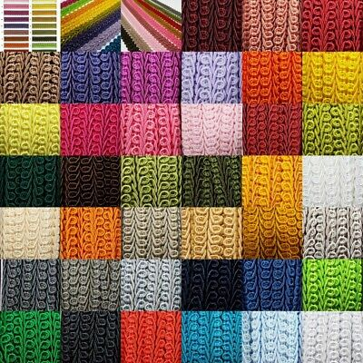 £4.70 • Buy 39 COLOUR Quality 15mm Double Scroll Gimp Braid Trim Edging Upholstery BUY 1 2 4