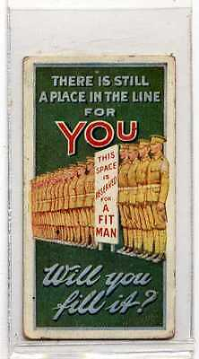 £4.95 • Buy (Jc2169-100)  WILLS,RECRUITING POSTERS,THERE IS STILL A PLACE IN LINE FOR,1915#