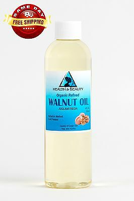 $5.89 • Buy Walnut Oil Organic Carrier Cold Pressed Premium Natural Pure 4 Oz