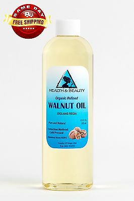 $10.89 • Buy Walnut Oil Organic Carrier Cold Pressed Premium Natural Pure 12 Oz