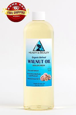 $19.89 • Buy Walnut Oil Organic Carrier Cold Pressed Premium Natural Pure 32 Oz