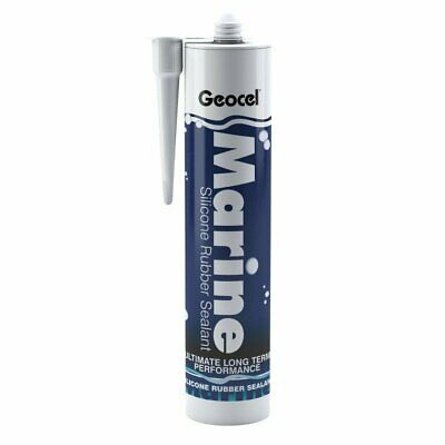 £10.25 • Buy Geocel® Marine Silicone Rubber Sealant For Boat Caravan Car Yacht (In Two Sizes)