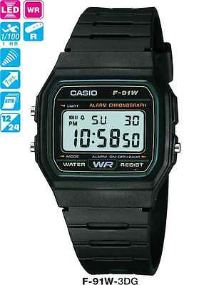 AU28 • Buy Casio Watch Free Post From Sydney Vintage Retro F-91w-3 F91 F91w F-91 Warranty