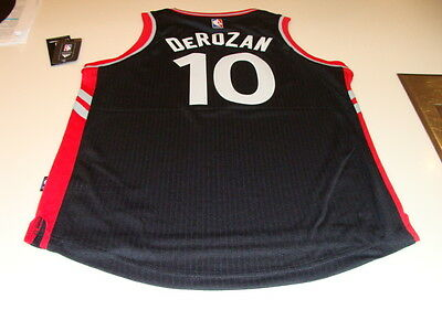 $ CDN89.99 • Buy NBA Toronto Raptors Demar DeRozan Black Red Alt Youth 2015-16 Logo Jersey Medium