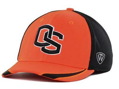 new arrival 0ef26 ff427 NEW NWT Oregon State University Beavers Hat Cap Stretch Fitted M L OSU  H7