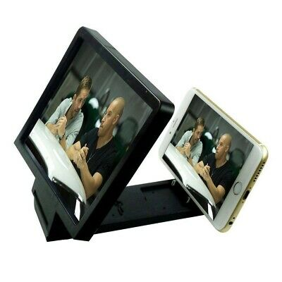 SCREEN SIZE MAGNIFIER PROJECTOR STAND For IPHONE 11 PRO XR X XS 8 7 6 6S SE 5 5s • 5.36£