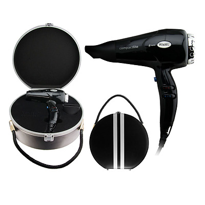 AU120 • Buy WAHL COMPACTLITE DRYER With Case 2000W Ionic Hair Dryer Compact - W/ RETRO CASE